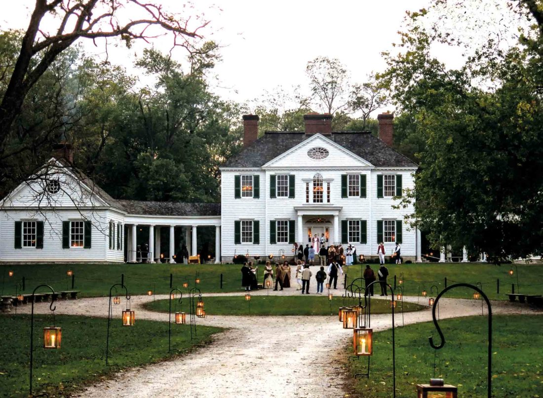"Photo courtesy of Kathy Abbott The Blennerhassett Mansion will be open to visitors during the evening hours of Oct. 13-14 as part of ""Blennerhassett Island by Night — The Mansion by Candlelight."""