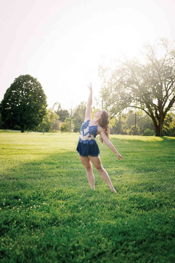 Parkersburg Catholic High School senior Macie Westrick has been dancing since she was 2 and performs a variety of competitive dance styles. (Photo Provided)