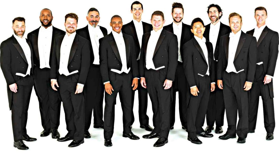 Photo Provided World renowned Chanticleer will perform at 8 p.m. Oct. 23 at the Smoot Theatre in downtown Parkersburg.
