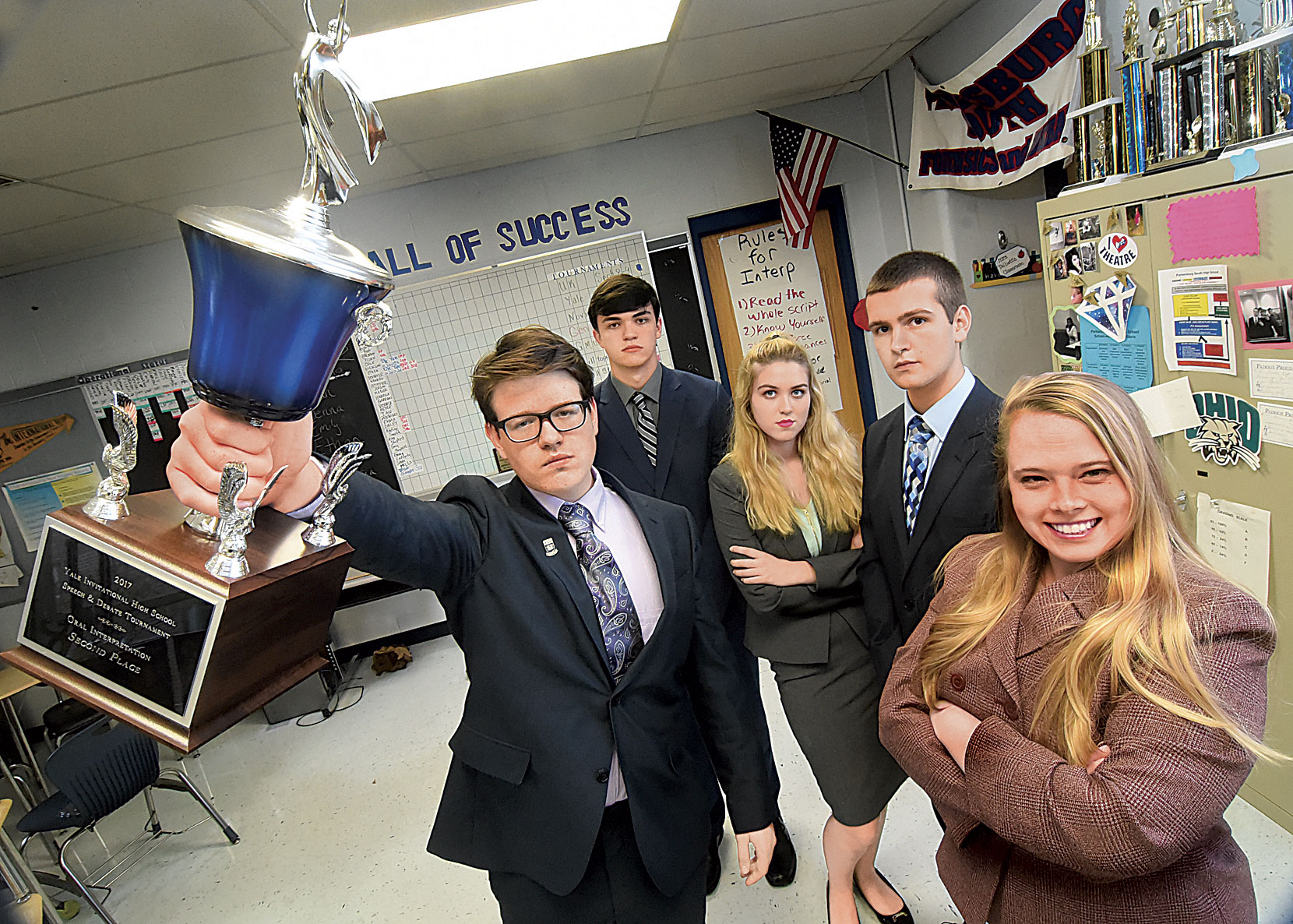 school debate Who better to critique the presidential candidates after their second showdown than a group of champion high school debaters who clearly know a thing or two about winning an argument.