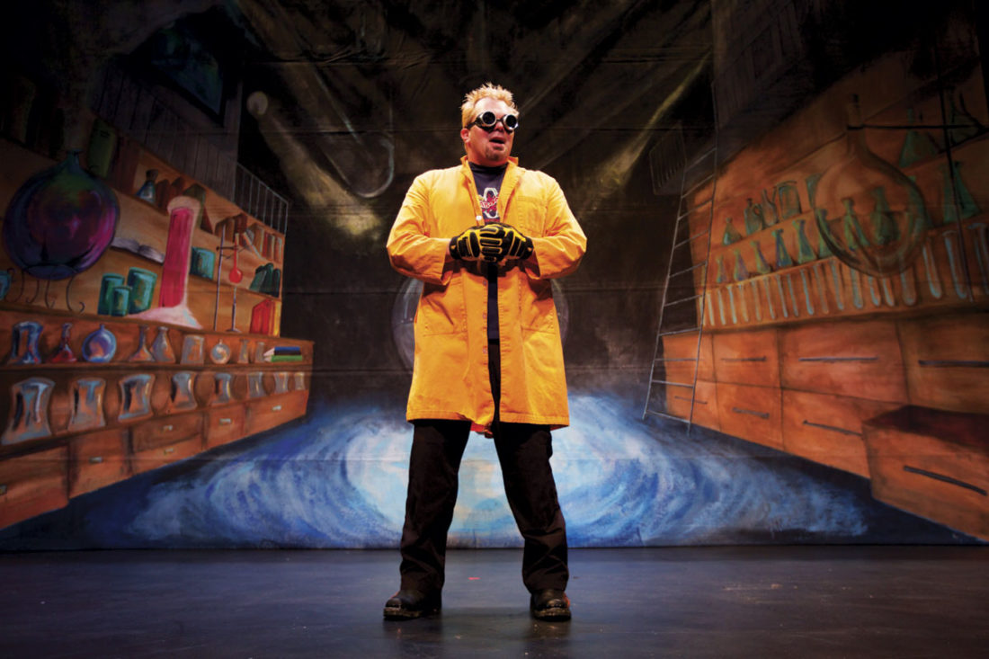 """Photo Provided """"Doktor Kaboom! Live Wire: The Electricity Tour"""" will be presented at 7 p.m. Nov. 3 at Peoples Bank Theatre in Marietta."""