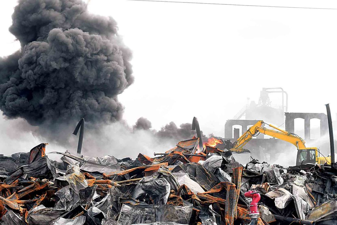 Class action lawsuit filed in former Ames plant fire | News, Sports ...