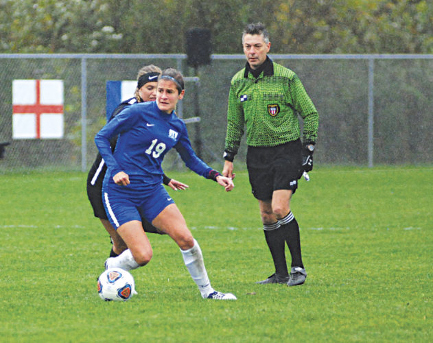 Ohio Valley University's Konstantina Giannou was named the Great Midwest Athletic Conferene Offensive Player of the Year. Photo by Jay W. Bennett.