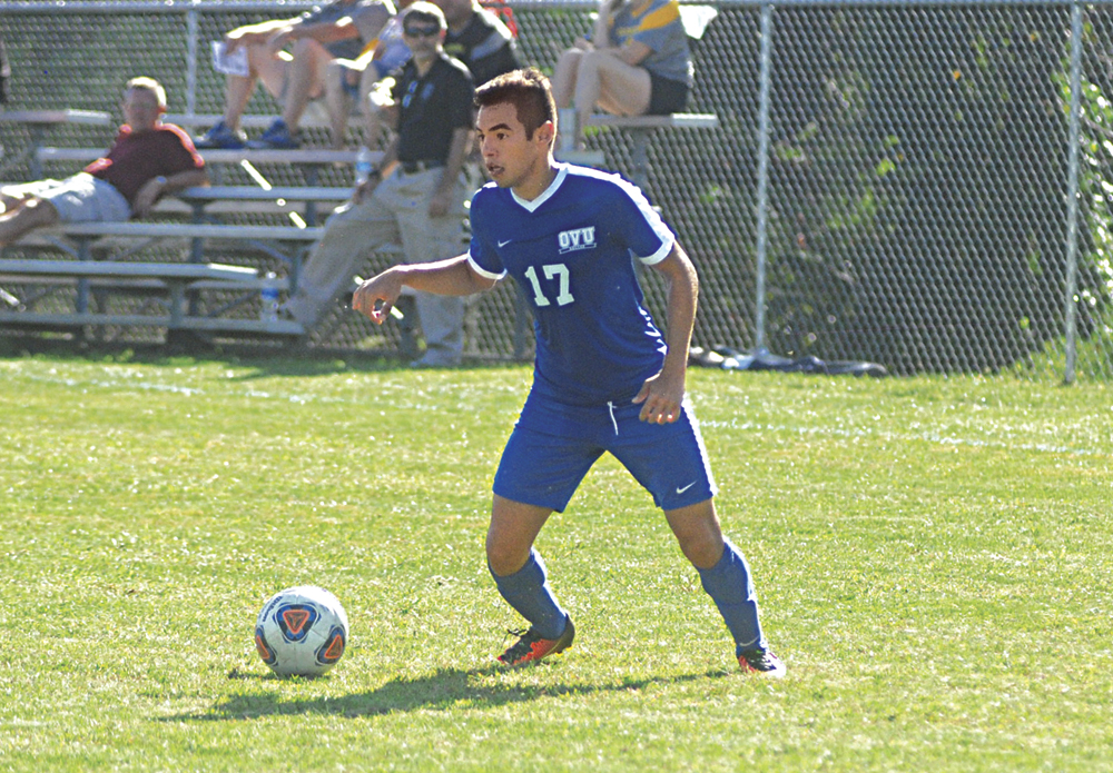 Ohio Valley University's Celso Riveros was named the Great Midwest Athletic Conference Offensive Player of the Year. Photo by Jay W. Bennett.