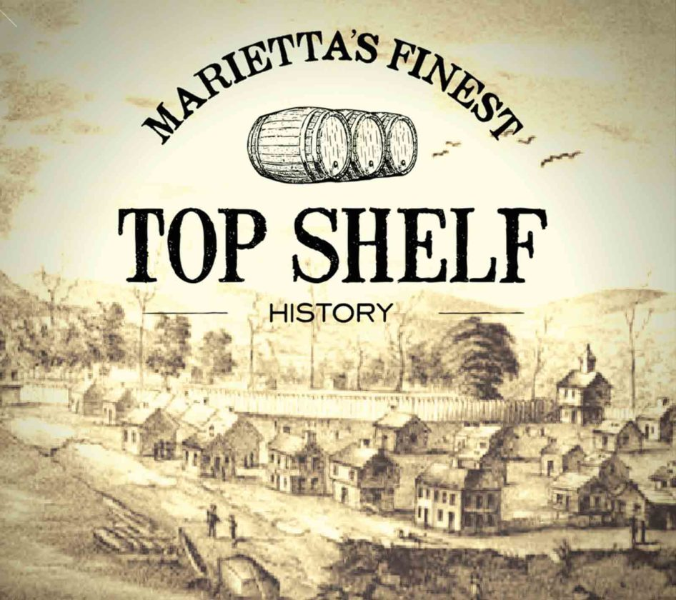 """Photo Provided The """"Marietta's Finest Top Shelf History — An 1800s History Themed Bar Crawl"""" will be held Nov. 9 at 6 p.m. at The Galley, Marietta Wine Cellars Inc., The River Town Grill, Over the Moon Pub & Pizza, Town House, and Gator's Easy Wind Pub."""
