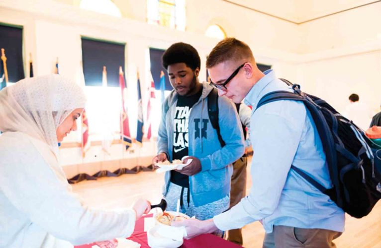 Photo Provided The Multicultural Festival, being held from 5-7 p.m. Friday in the Hermann Fine Arts Center at Marietta College, will feature more than 20 cultures represented through food, performances and conversation.