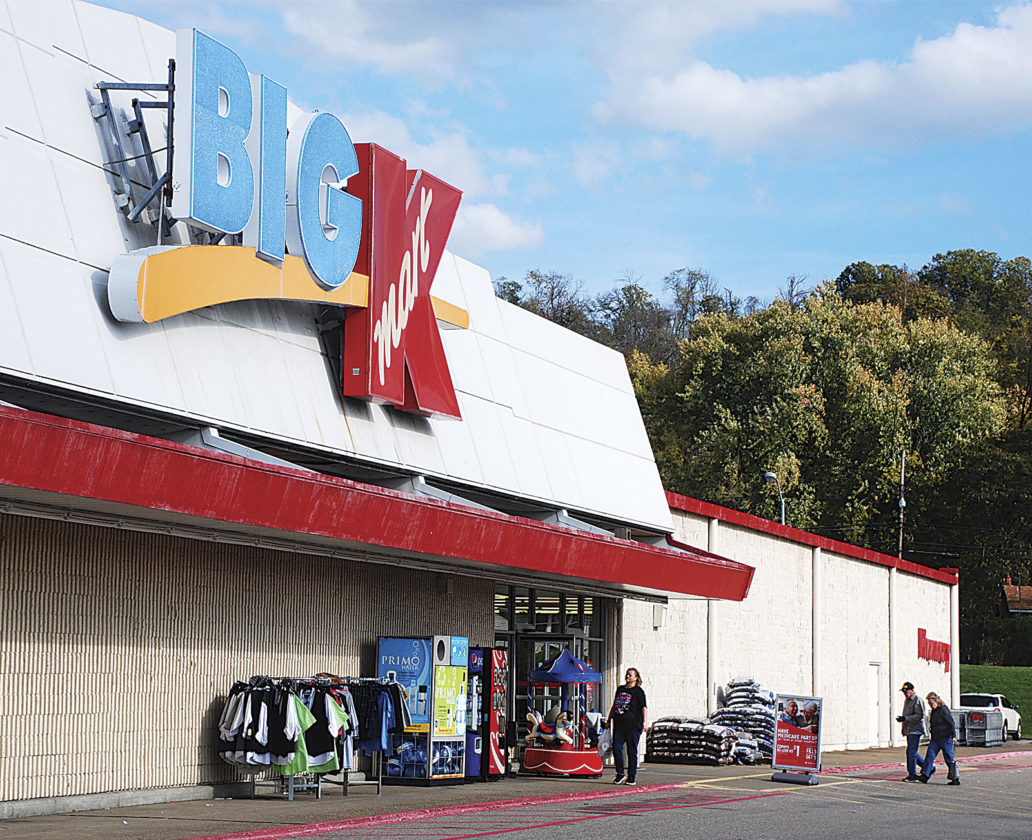 Photo by Art Smith Shoppers come and go from the Vienna Kmart Thursday.