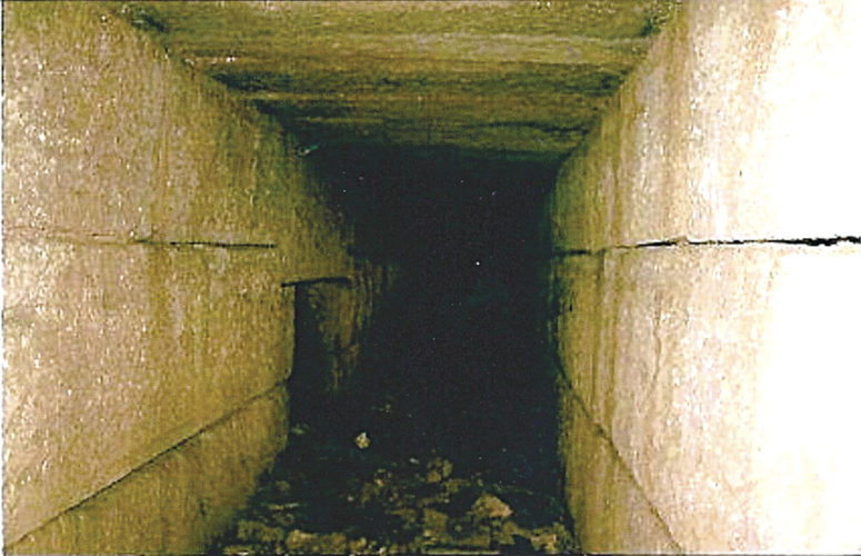 Photo provided by the Ritchie County Historical Society The rare picture above shows an interior passage of the famed Ritchie Mines. The photo must have been taken when the mine was entered for the last time in 1983 by two very lucky adventurers.