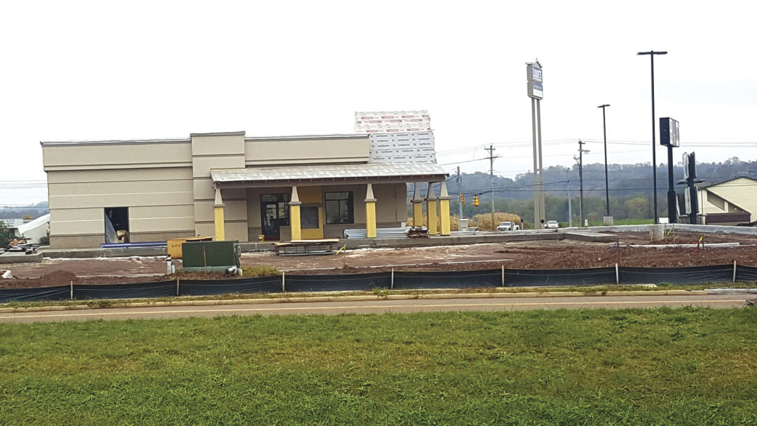 Photo courtesy of Michael Gulliver The progress on Nov. 3 of the IHOP in Marietta.