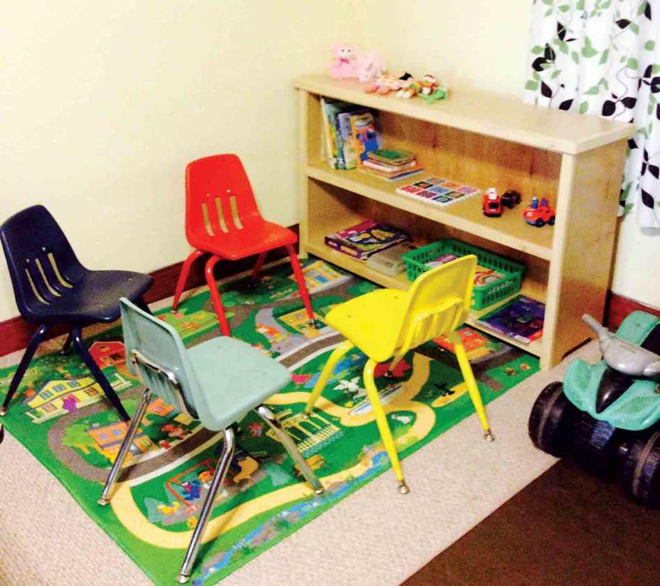 Photo Provided The remodeled children's corner at House to Home in Parkersburg.
