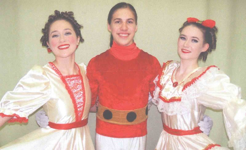 "Photo Provided The Mid-Ohio Valley Ballet Co. will present ""The Nutcracker"" on Dec. 1 at Marietta High School and Dec. 6 at Blennerhassett Middle School. Owen Tidd will dance the Nutcracker Prince and Catherine Hudson and Anna Menarchek will alternate the role of Clara."