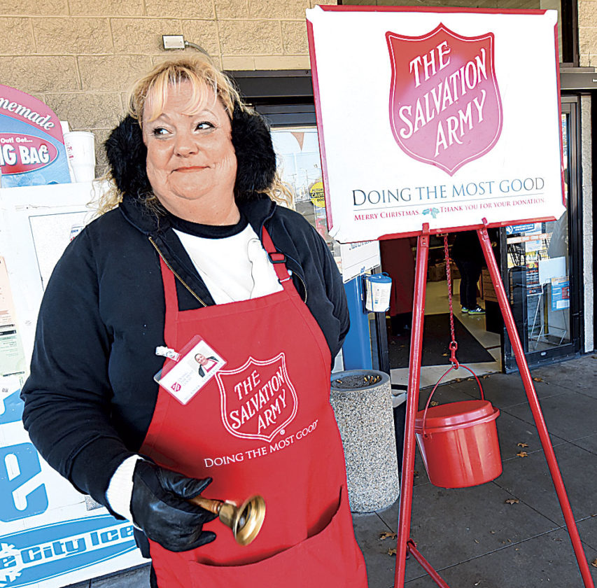 Two-thirds of bell ringers paid to collect donations