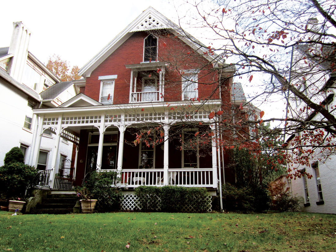 Photo by Wayne Towner The Nelly-Dyck home at 1024 Ann St. is one of the stops on the annual Victorian Christmas Home Tour and Tea in the Julia-Ann Square Historic District on Dec. 2-3.