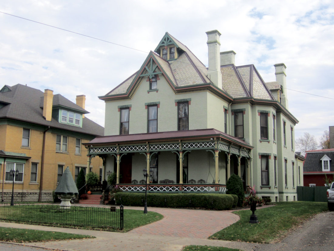 Photo by Wayne Towner The Caswell-Smith home at 1024 Juliana St. in Parkersburg will be featured in the Victorian Christmas Home Tour and Tea on Dec. 2-3 and the Holly Trail Tour of Homes on Dec. 9-10.