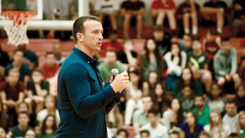 Photo Provided Former NBA player Chris Herren will be speaking Monday at South Parkersburg Baptist Church on his struggles with addiction and substance abuse. Alcohol and drug free since Aug.1, 2008, Herren has refocused his life to put his sobriety and family above all else.