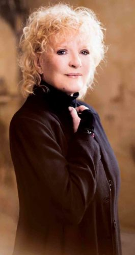 Photo Provided Petula Clark will perform at 8 p.m. Dec. 18 at the Smoot Theatre in downtown Parkersburg.