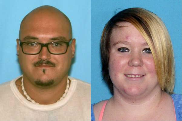 Kenneth Leroy McCoy, left, and Jessica Nicole Robert.