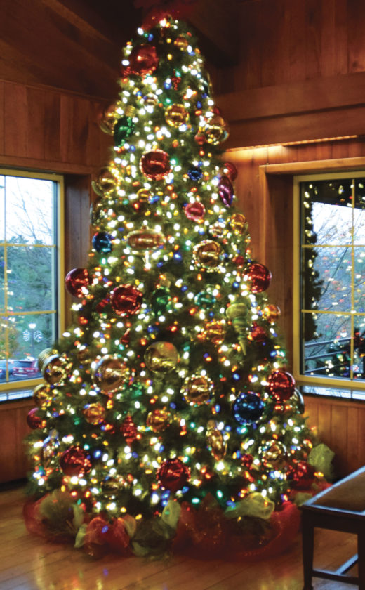 photo by the wheeling intelligencer a christmas tree in the lodge at oglebay park where the annual winter festival of lights is underway - Oglebay Christmas Lights