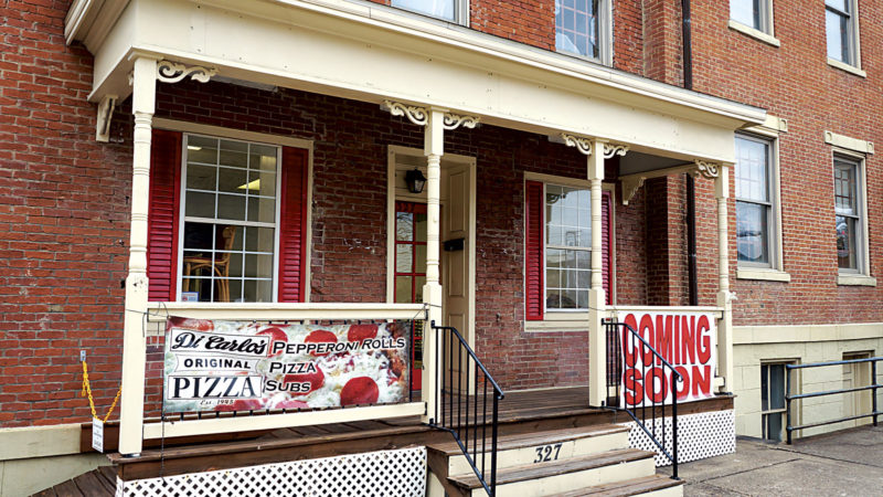 Photo by Michael Erb DiCarlo's Pizza will be opening a new location in early 2018 at 327 Juliana St. in Parkersburg.