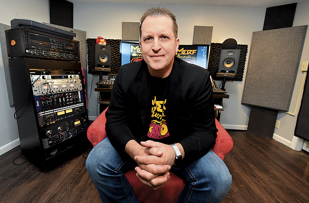 Photo by Jeff Baughan Merf Records owner and recording artist Steve Hussey cast his first ballot for the Grammy Awards as a member of The Recording Academy. He is one of 13,000 voting members worldwide.