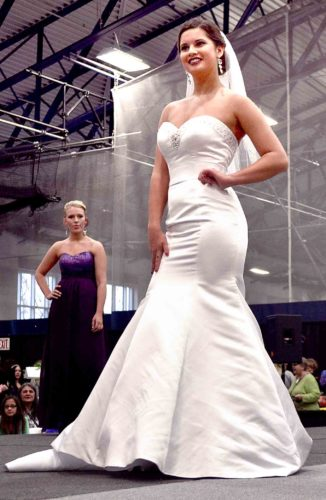 File Photo Wedding dresses and other formal clothing will be showcased during the 2018 Marietta Bridal Show from 1-5 p.m. Sunday at Dyson Baudo Recreation Center on the Marietta College campus.