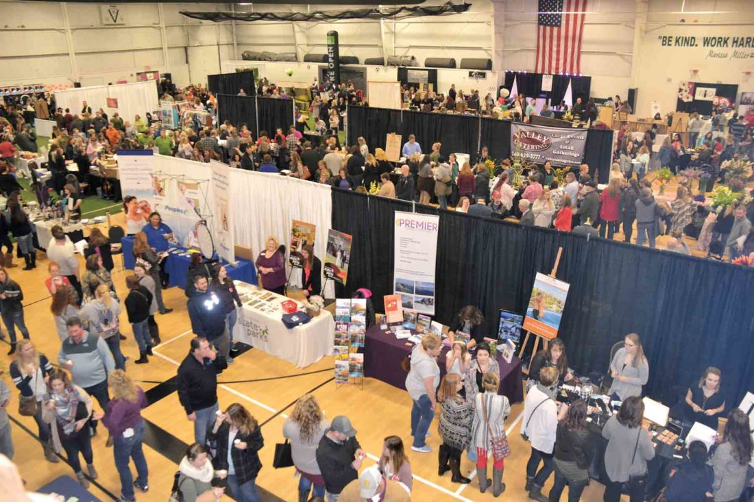 File Photo The 2018 Great Bridal Event will be Jan. 28 at the Elite Sports Center in south Parkersburg. About 90 vendors are expected to participate in the annual bridal show.