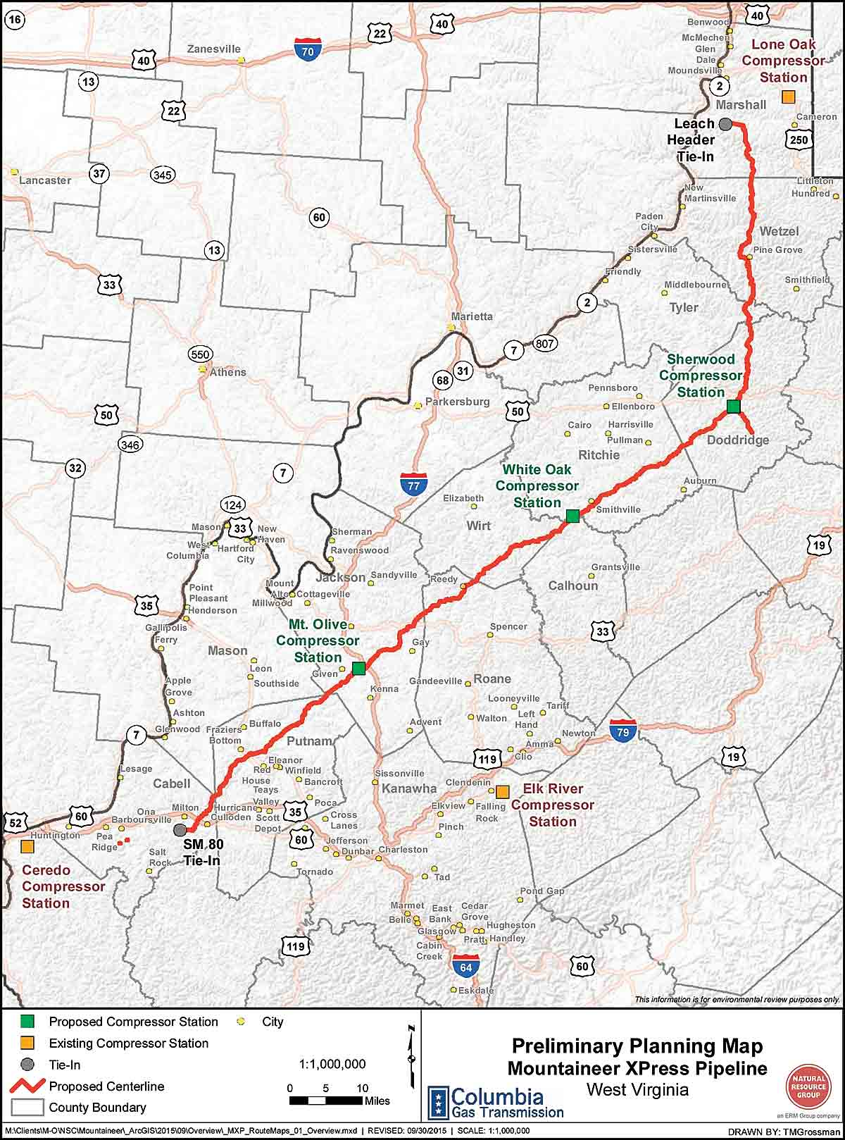 Natural Gas Pipeline Jobs Ohio
