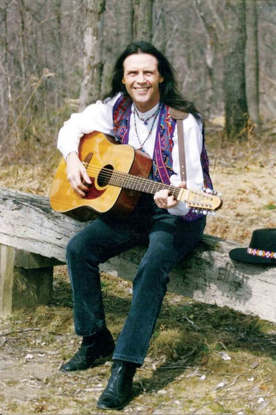 Photo Provided Musician Steve Free of Portsmouth, Ohio, will present a program on folk music at 2 p.m. Feb. 18 at the Blennerhassett Museum of Regional History.