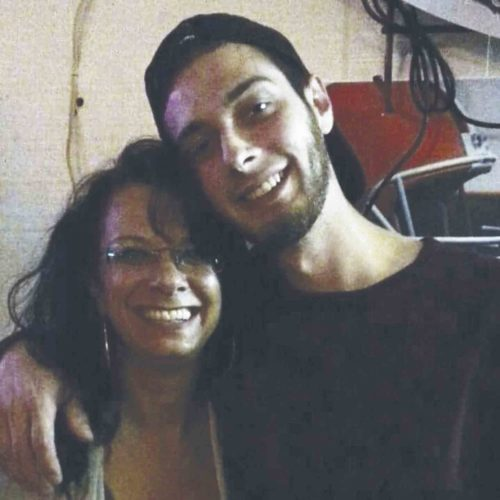 Photo Provided Lenora Lada appears in this photo with her son Trey Moats.