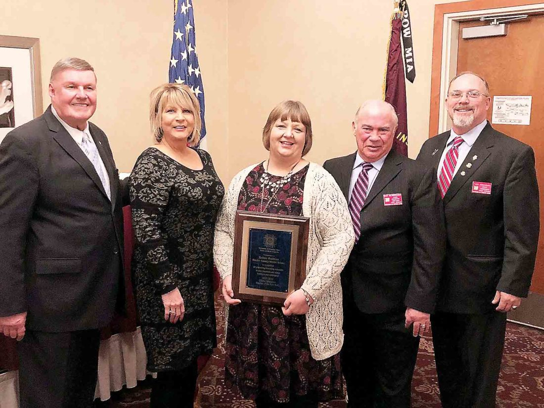 Vfw Honors Ritchie County Teacher News Sports Jobs