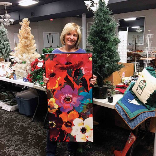 Photo Provided Dorsey Northrup is chair of the Yart Sale on Saturday at the Parkersburg Art Center.