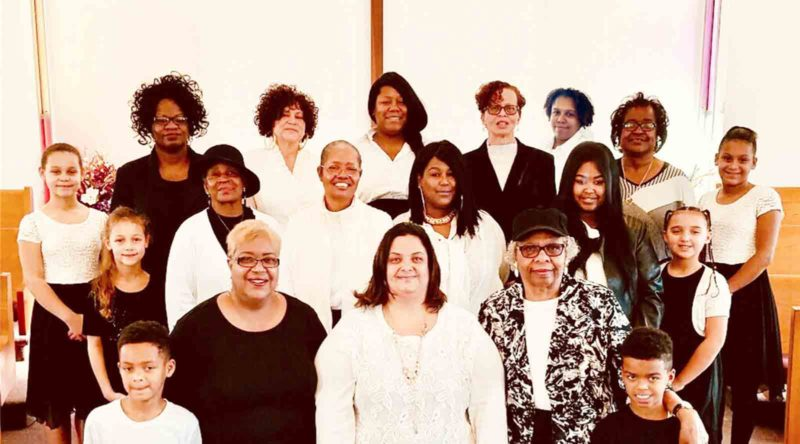 "Photo Provided ""Be Still And Know He Is God"" will be presented by St. Paul A.M.E. Church of Charleston at 3 p.m. today at the Zion Baptist Church, Eighth and Clay streets. The show, produced by the women at St. Paul, is based on Psalm 46:10."