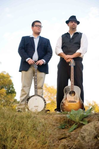 "Photo Provided Jake Eddy, left, and Steve Hussey, right, will be attending the Independent Music Awards ceremony in New York City next month after their song ""The Miller Girl"" was nominated for ""Bluegrass Song of the Year."""
