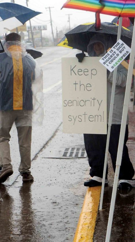 Wood County teachers, service employees on the picket lines | News ...