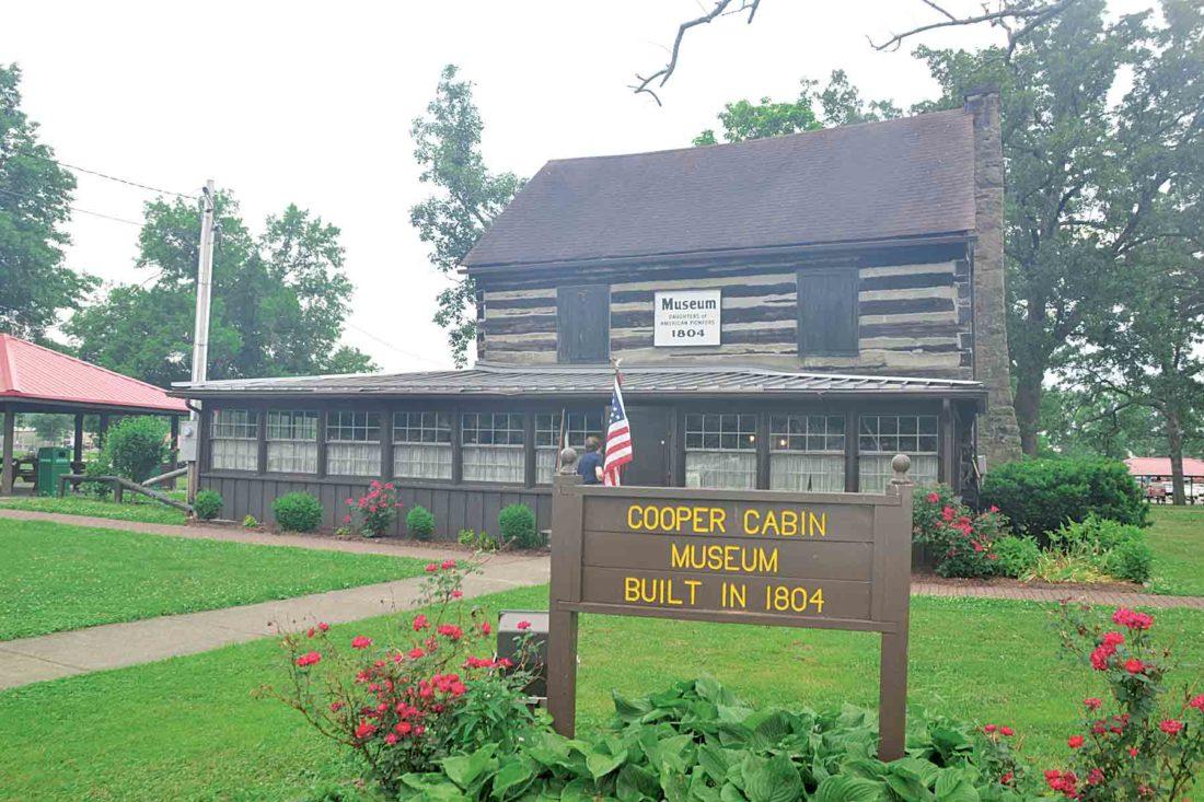 henry cooper log cabin museum opens doors for summer