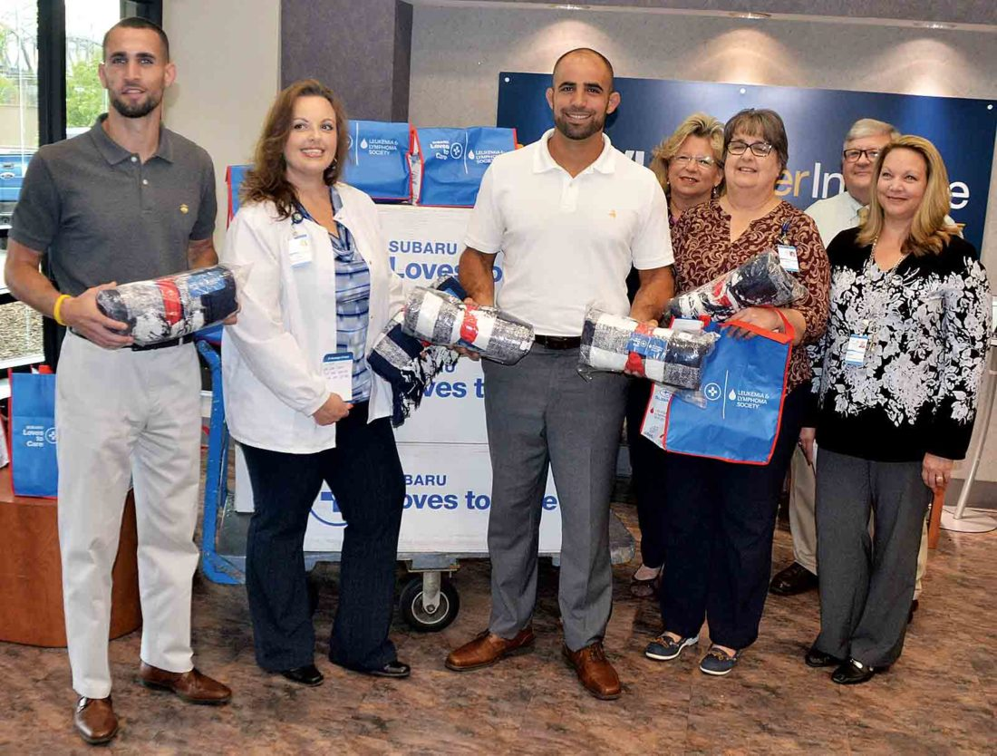 Blankets donated to Camden Clark Medical Center cancer ...