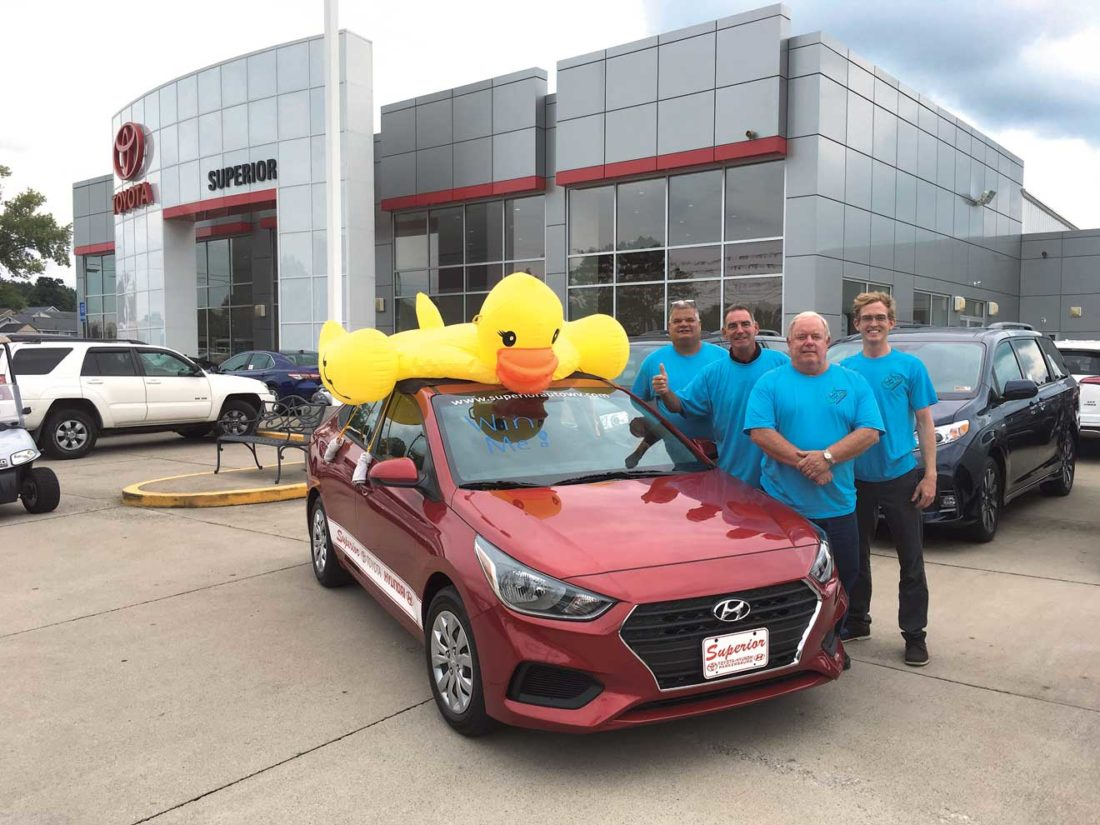 Awesome Photo By Michael Erb Parkersburg Homecoming Rubber Ducky Derby Tickets Are  On Sale, With A Grand Prize Of A 2018 Hyundai Accent, Courtesy Of Superior  Toyota ...