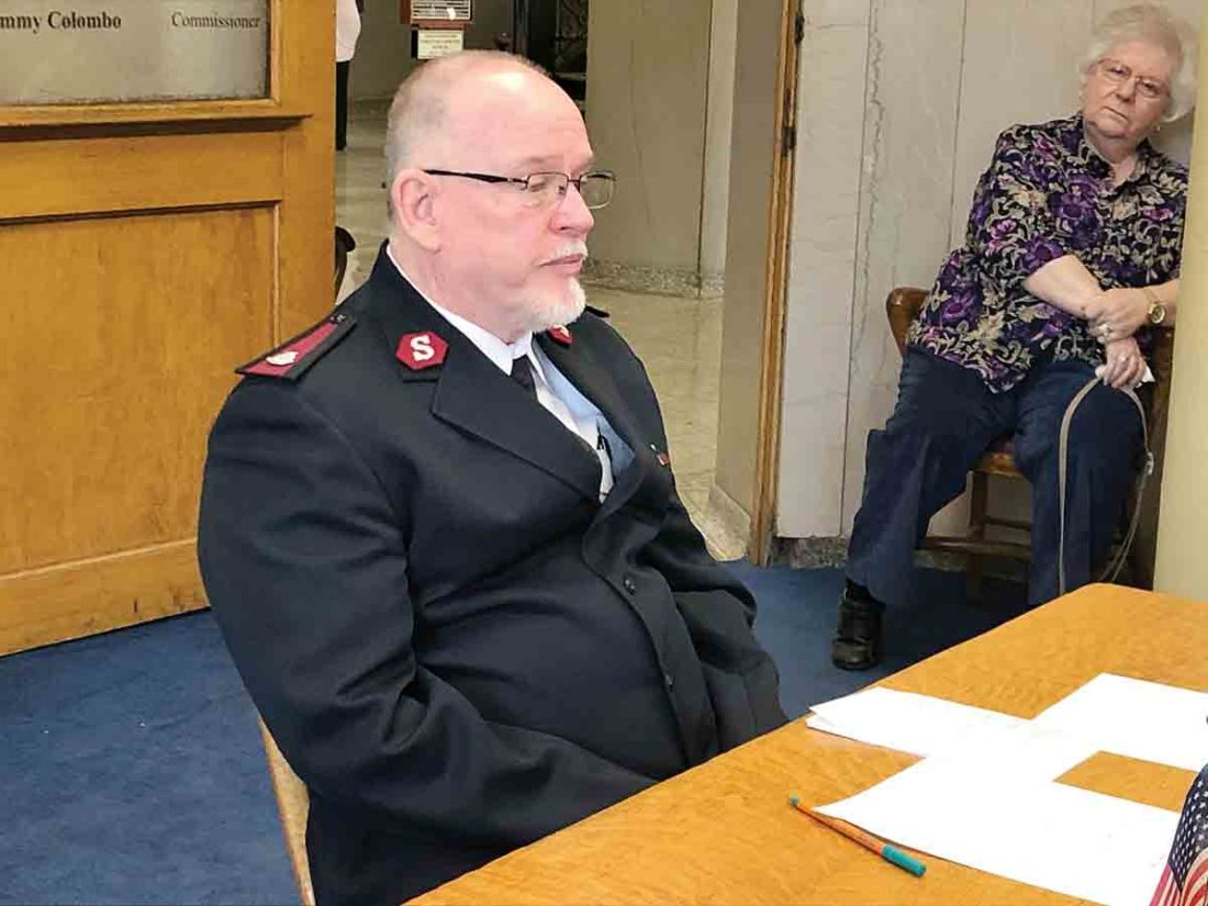 Salvation Army Outlines Activities For Wood County