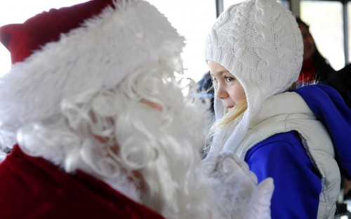 Santa Express Weekend Winter Holiday Events