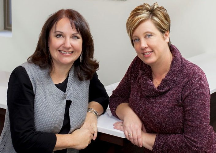 Lisa Besemer and Stephanie Meyer