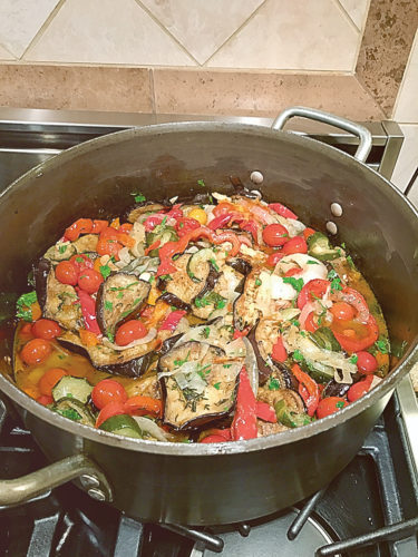 Submitted photo Ratatouille takes a little extra effort, but the results are worth it.