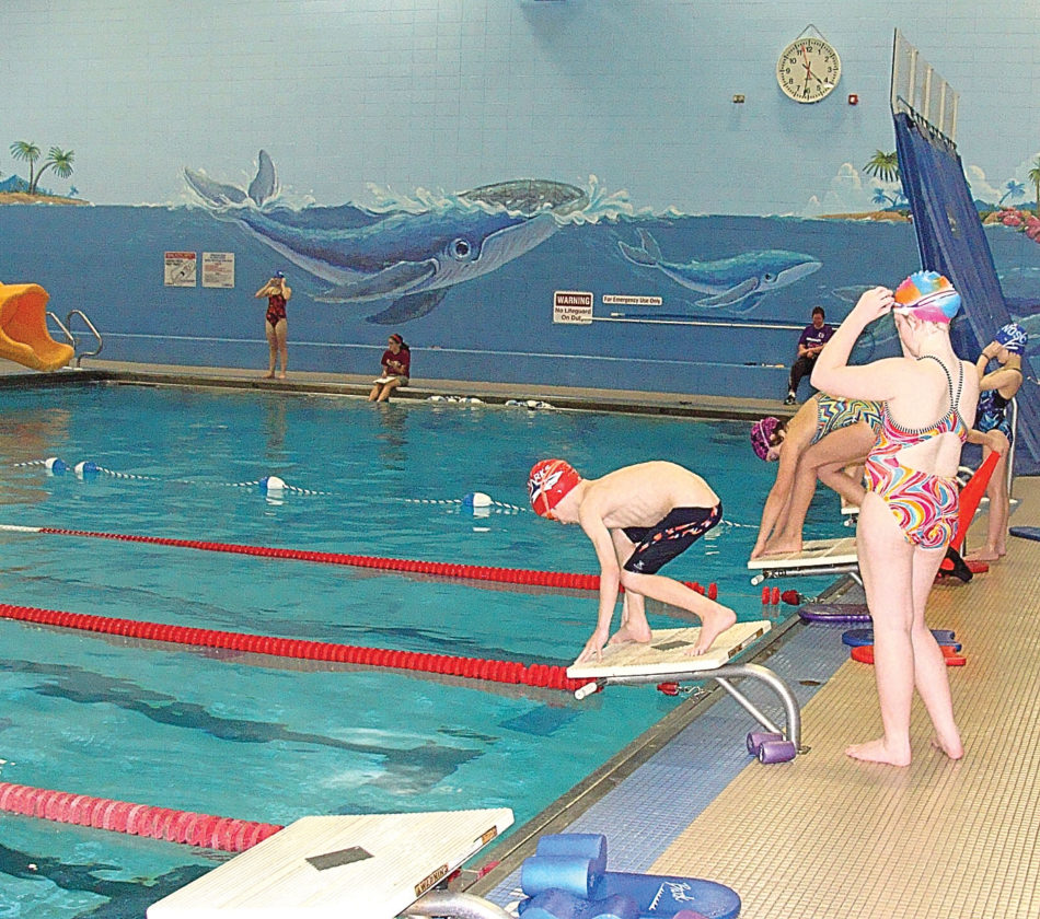 Photos courtesy of New Ulm Park and Recreation The Hermann Swim Club will focus on training         swimmers to improve their skills.