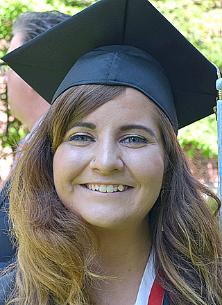 """Caitlin Smith, Westland, Mich.: """"I hope to be able to put my degree into practice."""""""