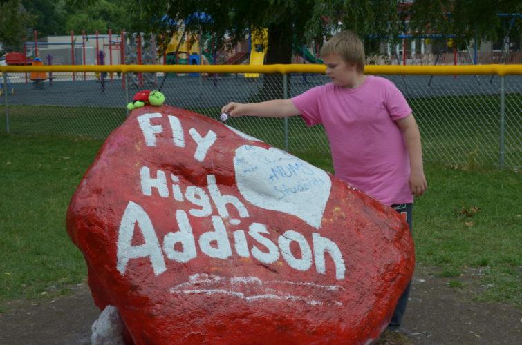 Addison's rock