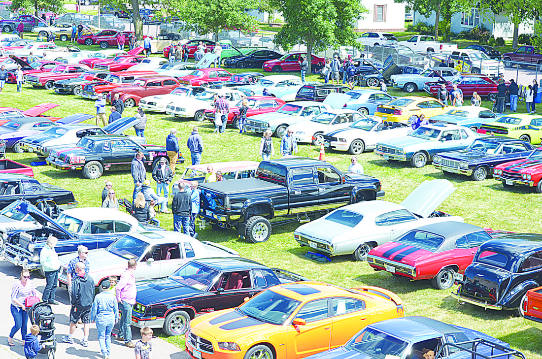 A total of 375 cars showed up at the Autofest Sunday at the Brown County Fairgrounds.