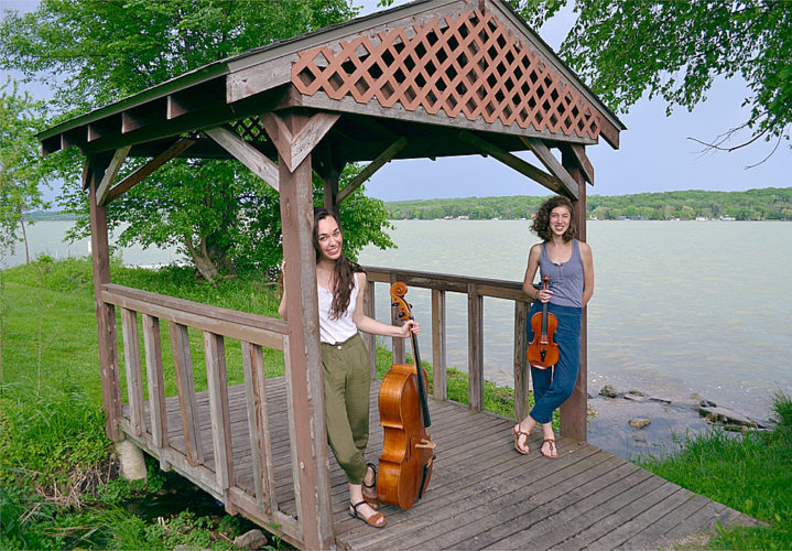 Submitted photo Lydia and Caroline will perform this Sunday at the Grand Center for Arts & Culture.