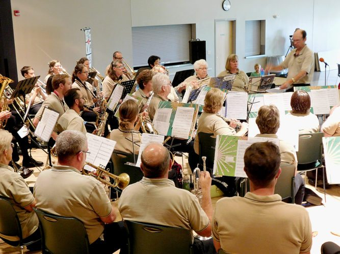 Wednesday's storm wreak havoc on much of the county and caused the delay or rescheduling of several events, including the New Ulm Municipal Band concert series. The Municipal Band was scheduled to play a concert in German Park Wednesday night, but the storm forced them to relocate to the Community Center. The storm had long passed by the time the band hit the stage but German Park lawn was too wet to continue. The Municipal Band will return to German next Wednesday, July 26.