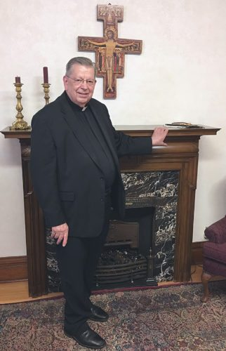 Photo submitted by Karen Domeier Msgr. John Richter will be honored with a celebration on Sunday in honor of his official retirement after 53 years as a priest.