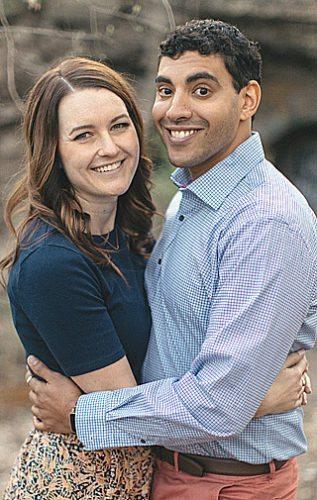 Amy Schneider and Brady Gulden