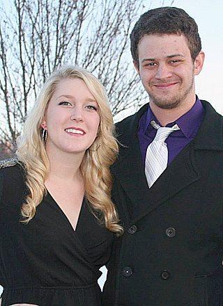 Tara McCarron  and Sam Sveine